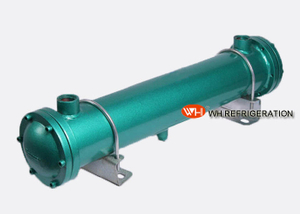 Horizontal Carbon Steel Shell And Tube Heat Exchanger For Hydraulic Oil Cooling