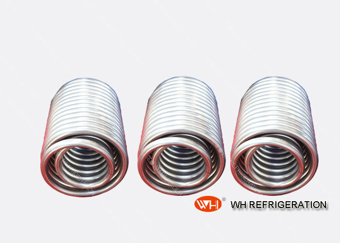 Industrial Circles Titanium Heat Exchanger Coil For Chemical Industry / Food Industry
