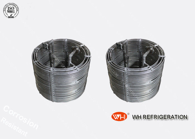 Anti Corrosion Titanium Tubes Cooling Coil Stainless Steel Evaporator