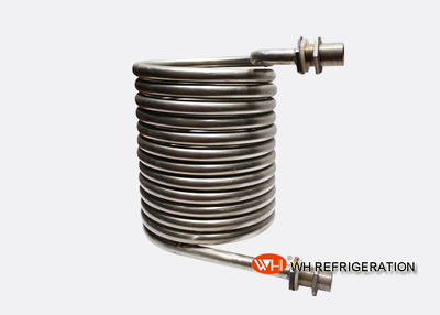 SS304 Industrial Heat Exchanger Coil In Hvac System Corrosion Resistant