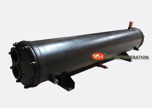 ISO Certification Water Cooled Type Shell And Tube Condenser For Air Conditioning Unit