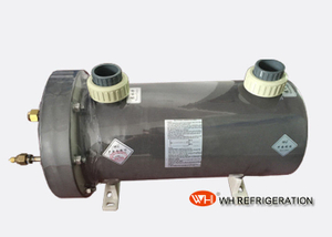 Seamless Titanium Tube Swimming Pool Heat Exchanger For Heat Pump Anti Corrosion