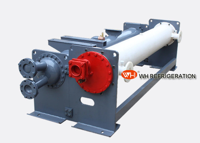 High Quality evaporator with ss tube flange type double shell side heat exchanger air heat exchanger design