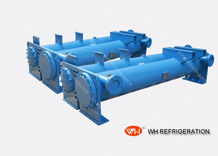 Water Cooled Chiller Shell And Tube Condenser For Refrigeration Single System