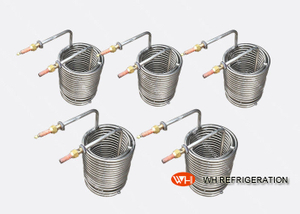 Water Tank Stainless Steel Heat Exchanger Coil Anti - Freezing Capability