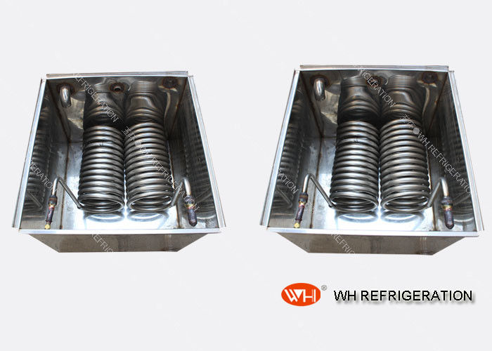 Chiller Water Cooled Heat Exchanger Evaporator Coil For Carrier Air Conditioner spiral coil heat exchanger