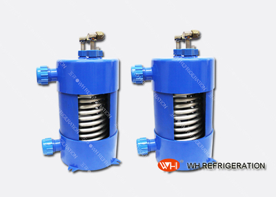 Easy Installation Tube Heat Exchanger Titanium Aquariums,titanium Evaporator for Aquarium Chiller,titanium Heat Exchangers