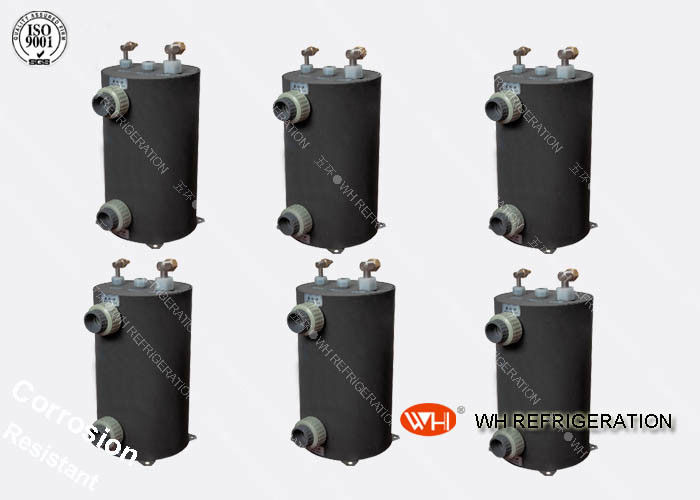 Hydraulic Dry Heat Exchanger Tube R410a Evaporator For Air Cooled Water Chiller