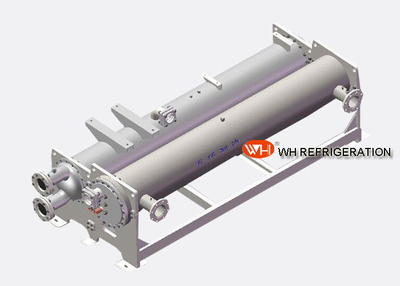 Steel Shell and Tube Heat Exchanger For Loaders Refrigeration / Heating Equipment