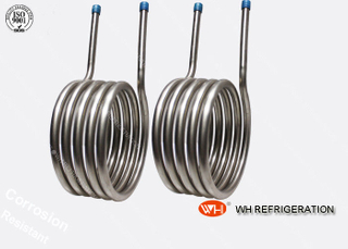 China Top Quality custom evaporator coils,air-water heat exchanger coil,beer condenser coil
