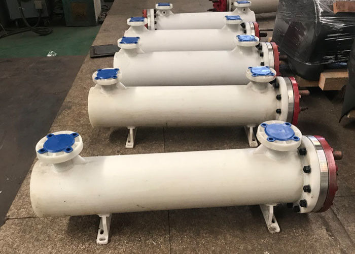 U Shaped Dry Heat Exchanger , Shell And Tube Water Cooled Condenser 10KW - 600KW