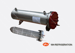 Stainless Steel Shell And Tube Heat Exchanger U Tube Inner Structure , Double Circuit