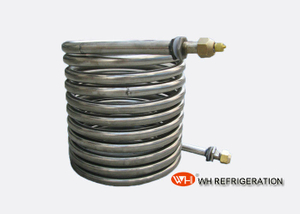 Fresh Water Cooling Stainless Steel Condenser Coil For Water Chiller