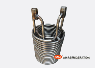 High Heat Transfer Stainless Steel Coil Heat Exchanger OD 19 Coiled Tube