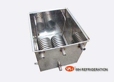Water Tank Stainless Steel Coil Heat Exchanger For Laser Chiler OEM Service