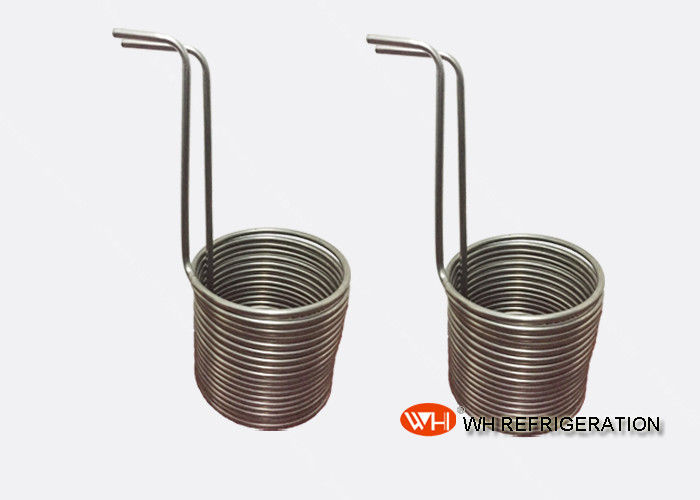 Seamless Stainless Steel Coil Heat Exchanger Condenser Coil Refrigeration Parts