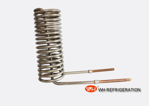 1.5HP To 5.0HP Seawater Coil Heat Exchanger With Titanium Tube