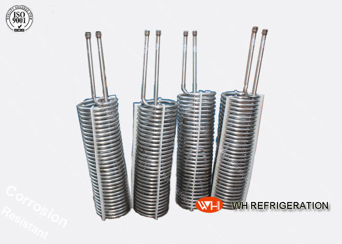 High Efficiency Refrigerator Evaporator Titanium Tubes In Coils,Cooling Coil Tube