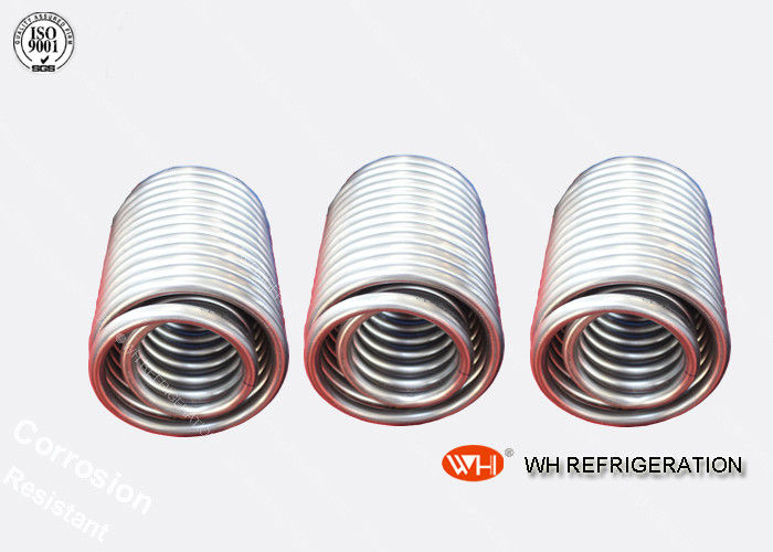 Heating & Cooling Helical Coils Tube Chilled Water Cooling Coil