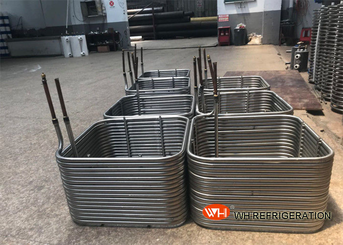 Custom R134A Cooling 316l Coil Tubular Heat Exchanger High Efficient