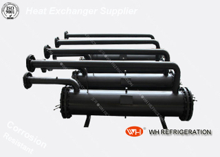 Customized Pure Titanium Marine Heat Exchanger Shell Tube Corrosion Resistant