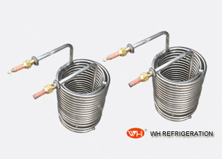 Titanium Pipe Spiral Coil Tubing Heat Exchanger High Conductivity For Mariculture
