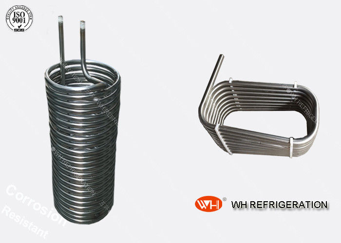 WH Best Quality 304 316l Stainless Steel Condenser Coil,coil Tube Heat Exchanger Price,cooling Condenser Coils