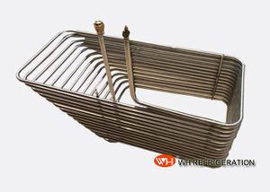 Stainless Steel Immersion Coil Heat Exchanger , Coiled Tube Heat Exchanger