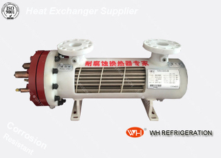 Tube In Tube Marine Heat Exchanger For Cooling / Heating Strong Corrosion Proof