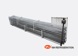 TA1 Titanium Coiled Tube Heat Exchanger For Industrial Heating And Cooling